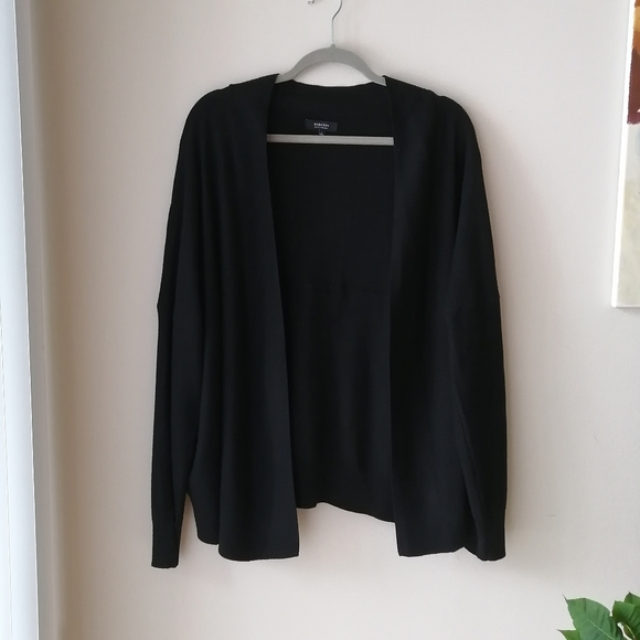 Babaton with cashmere open cardigan sweater